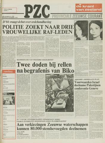 Provinciale Zeeuwse Courant 1977-09-26