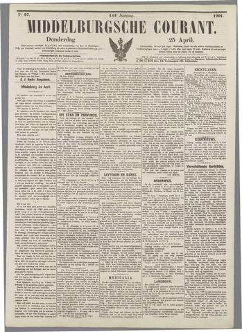 Middelburgsche Courant 1901-04-25