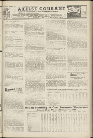 Axelsche Courant 1958-03-29