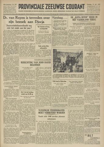 Provinciale Zeeuwse Courant 1949-07-19