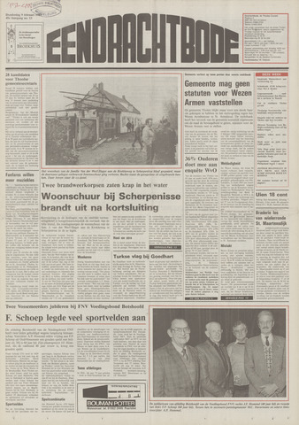 Eendrachtbode (1945-heden)/Mededeelingenblad voor het eiland Tholen (1944/45) 1989-02-09