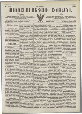 Middelburgsche Courant 1899-05-05
