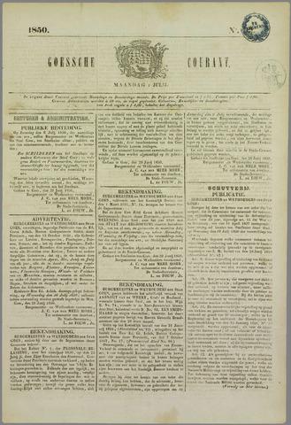 Goessche Courant 1850-07-01