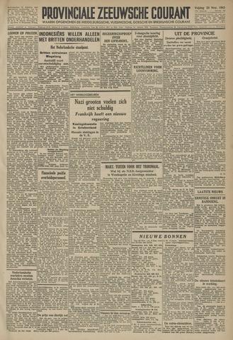 Provinciale Zeeuwse Courant 1945-11-23
