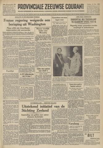 Provinciale Zeeuwse Courant 1952-10-10