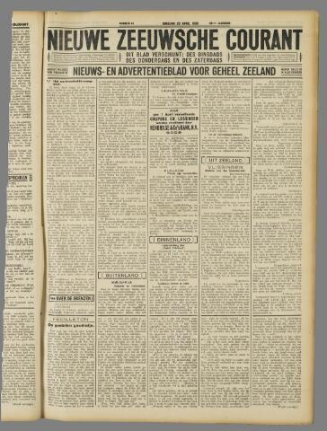 Nieuwe Zeeuwsche Courant 1930-04-22