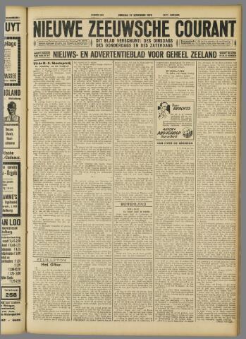 Nieuwe Zeeuwsche Courant 1928-11-27