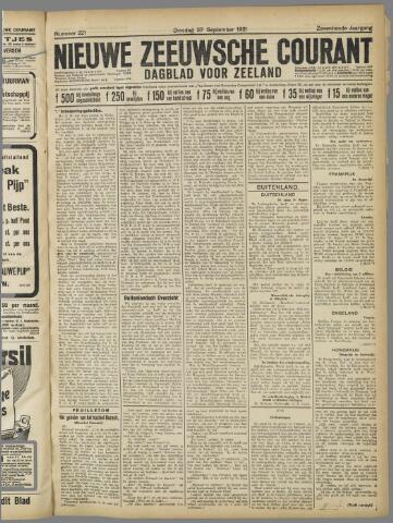 Nieuwe Zeeuwsche Courant 1921-09-27