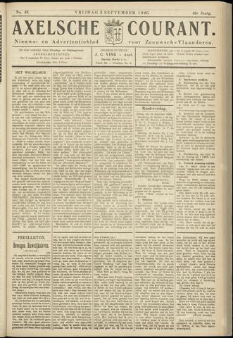 Axelsche Courant 1926-09-03