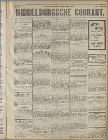 Middelburgsche Courant 1922-02-22