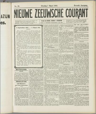 Nieuwe Zeeuwsche Courant 1911-03-07