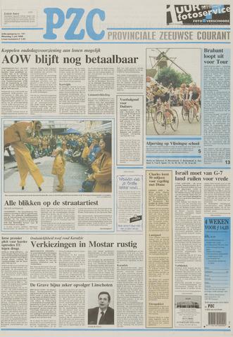 Provinciale Zeeuwse Courant 1996-07-01
