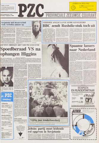 Provinciale Zeeuwse Courant 1989-08-01