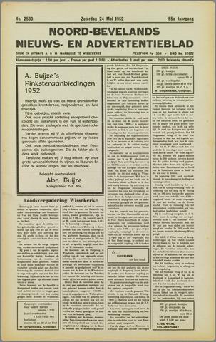 Noord-Bevelands Nieuws- en advertentieblad 1952-05-24