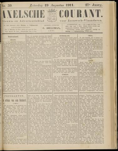 Axelsche Courant 1911-08-19