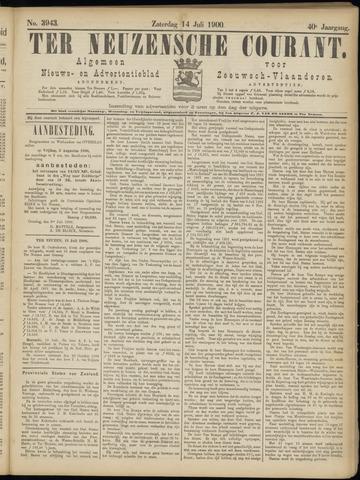 Ter Neuzensche Courant. Algemeen Nieuws- en Advertentieblad voor Zeeuwsch-Vlaanderen / Neuzensche Courant ... (idem) / (Algemeen) nieuws en advertentieblad voor Zeeuwsch-Vlaanderen 1900-07-14
