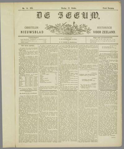 De Zeeuw. Christelijk-historisch nieuwsblad voor Zeeland 1895-10-22