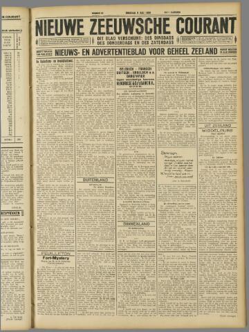 Nieuwe Zeeuwsche Courant 1929-07-09