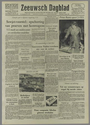 Zeeuwsch Dagblad 1957-09-21
