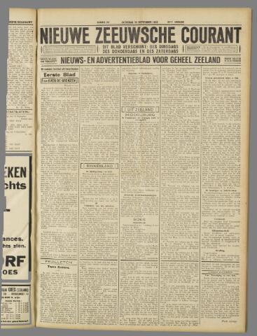 Nieuwe Zeeuwsche Courant 1932-09-10