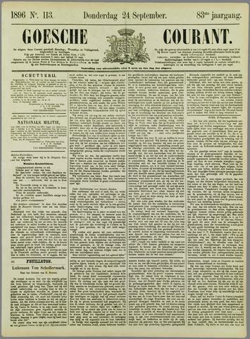 Goessche Courant 1896-09-24