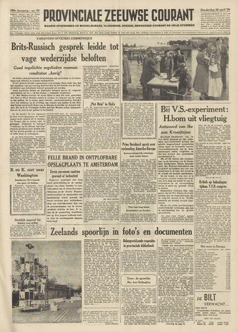 Provinciale Zeeuwse Courant 1956-04-26