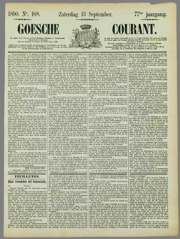 Goessche Courant 1890-09-13