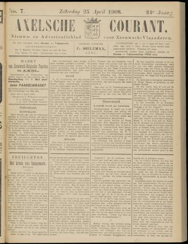 Axelsche Courant 1908-04-25