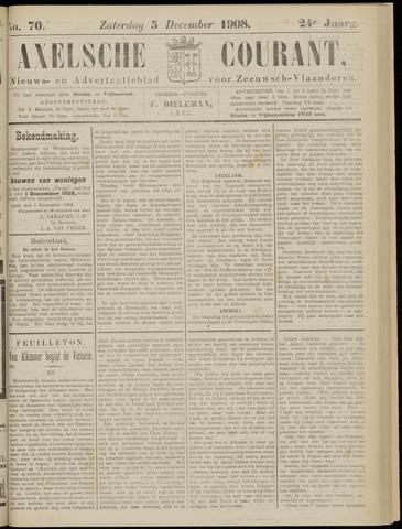 Axelsche Courant 1908-12-05