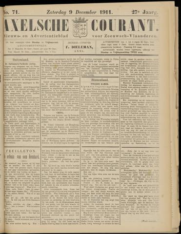 Axelsche Courant 1911-12-09