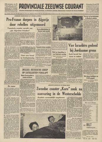 Provinciale Zeeuwse Courant 1956-04-25