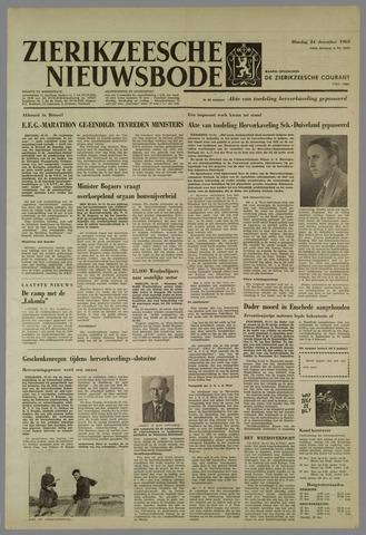 Zierikzeesche Nieuwsbode 1963-12-24