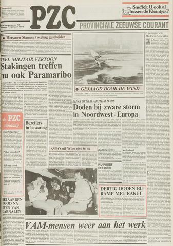 Provinciale Zeeuwse Courant 1984-01-14