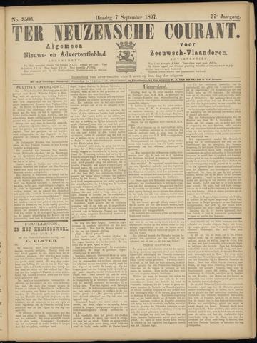 Ter Neuzensche Courant. Algemeen Nieuws- en Advertentieblad voor Zeeuwsch-Vlaanderen / Neuzensche Courant ... (idem) / (Algemeen) nieuws en advertentieblad voor Zeeuwsch-Vlaanderen 1897-09-07