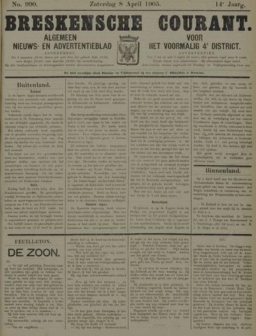 Breskensche Courant 1905-04-08