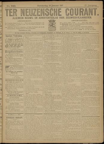 Ter Neuzensche Courant. Algemeen Nieuws- en Advertentieblad voor Zeeuwsch-Vlaanderen / Neuzensche Courant ... (idem) / (Algemeen) nieuws en advertentieblad voor Zeeuwsch-Vlaanderen 1917-01-18
