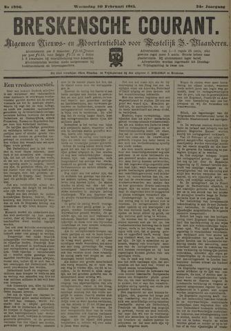 Breskensche Courant 1915-02-10