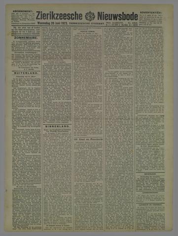 Zierikzeesche Nieuwsbode 1923-06-20