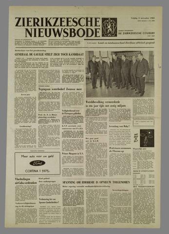 Zierikzeesche Nieuwsbode 1965-11-05