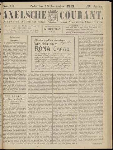 Axelsche Courant 1913-12-13
