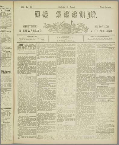 De Zeeuw. Christelijk-historisch nieuwsblad voor Zeeland 1896-01-30