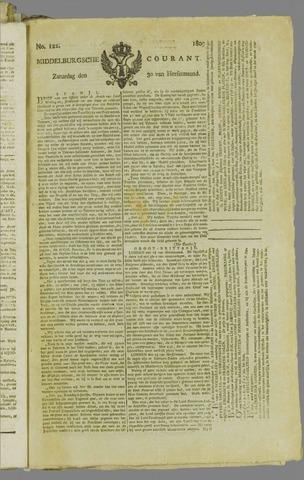 Middelburgsche Courant 1809-09-30