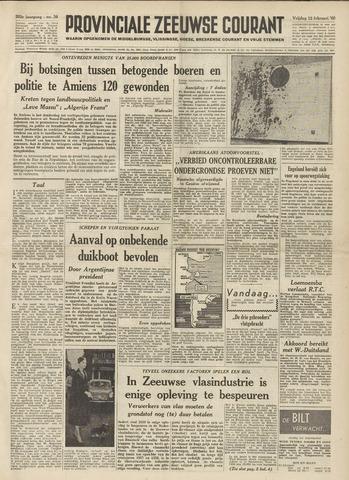 Provinciale Zeeuwse Courant 1960-02-12