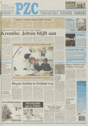 Provinciale Zeeuwse Courant 1996-09-25