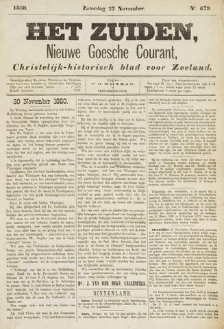 Het Zuiden, Christelijk-historisch blad 1880-11-27