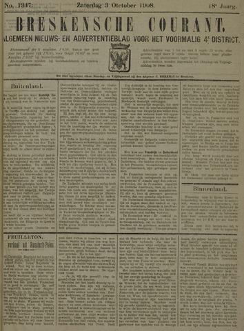 Breskensche Courant 1908-10-03