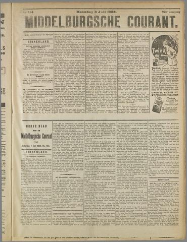 Middelburgsche Courant 1922-07-03
