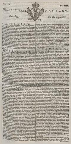 Middelburgsche Courant 1778-09-26