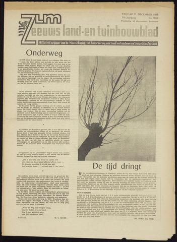 Zeeuwsch landbouwblad ... ZLM land- en tuinbouwblad 1965-12-31