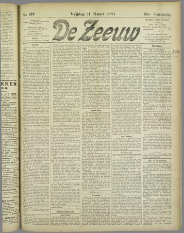 De Zeeuw. Christelijk-historisch nieuwsblad voor Zeeland 1921-03-11